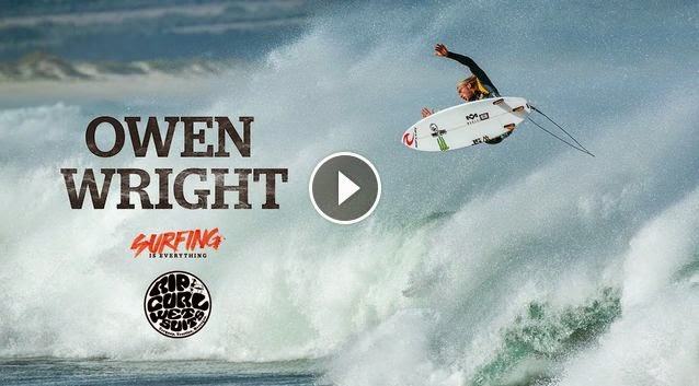 Owen Wright Searching in South Africa - Surfing is Everything