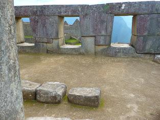 Temple of the three Windows, Machu Picchu Ruins, Peru.