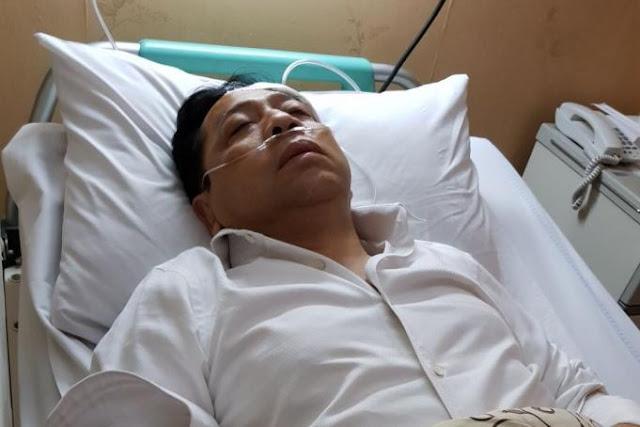 Mahyudin ke RS Medika Permata Hijau Besuk Novanto