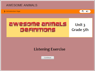 http://englishmilagrosa.blogspot.com.es/2017/01/animals-descriptions-listening-task-5th.html