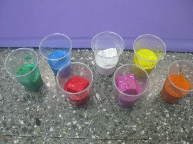 Resultado de imagen de pintura amb esponges