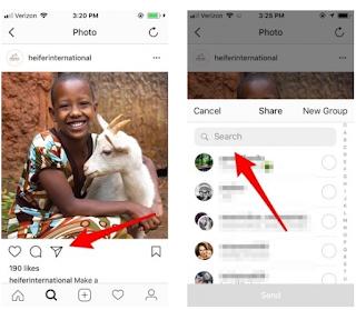 Cara Menandai Seseorang di Foto Instagram atau Mengirim Pesan Langsung, Begini caranya