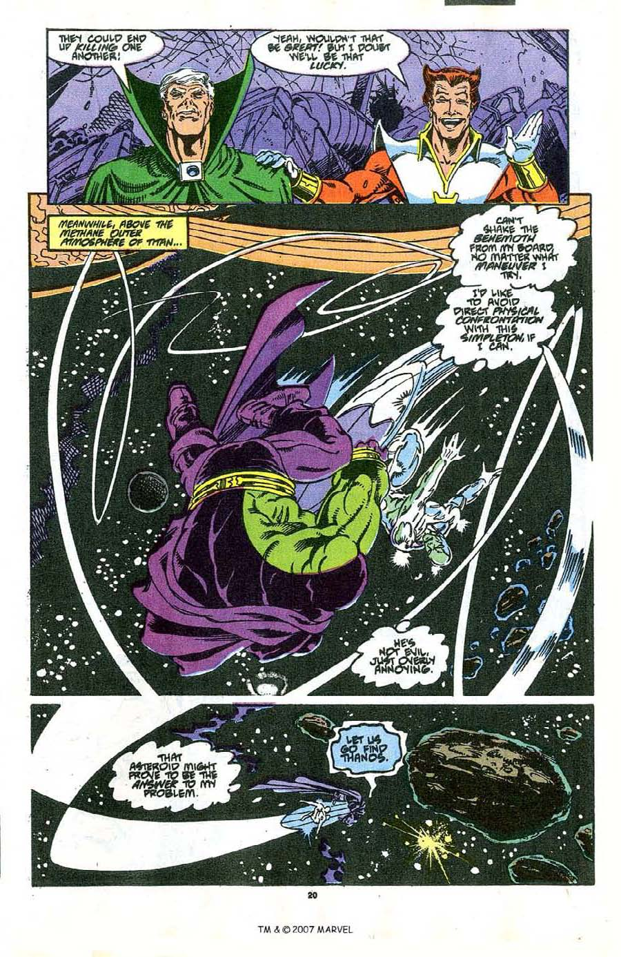 Read online Silver Surfer (1987) comic -  Issue #37 - 21