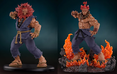 "Preview de Akuma 1/4 Statue de ""Street Fighter V"" - Pop Culture Shock"