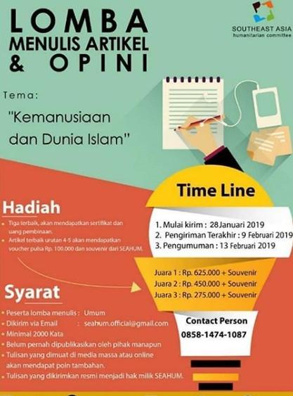 lomba menulis islam terbaru
