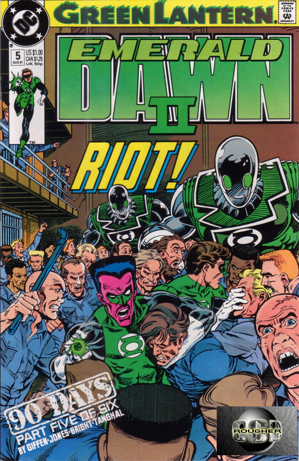 Green Lantern: Emerald Dawn II 5 Page 1