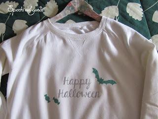 maglietta di halloween finita