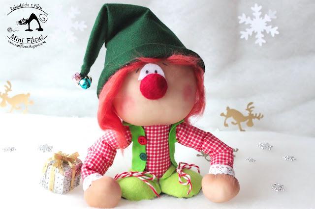 Elf z pończoszki
