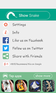 Cara Memunculkan Ular Hidup di Layar Android