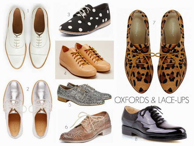 oxfords, brogues, lace-ups, shoes, what every woman needs
