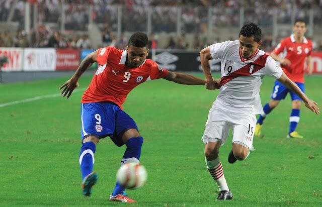 Perú y Chile en Clasificatorias a Brasil 2014, 22 de marzo de 2013