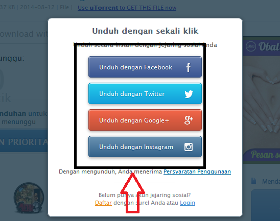 Cara Download File Di 4 Shared
