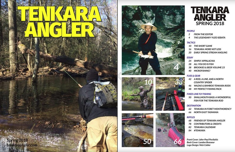 e0122fa96cd It s my pleasure to announce that the Spring 2018 issue of Tenkara Angler  magazine is now live!