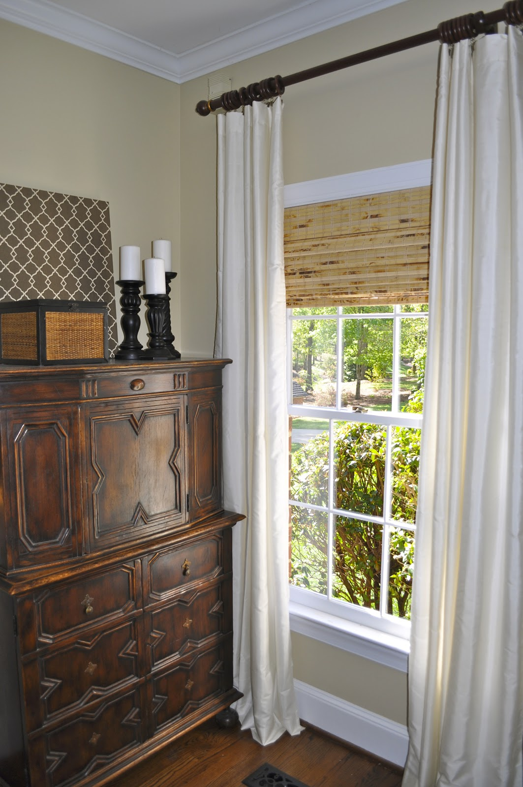 The Collected Interior Simple Bamboo Blinds