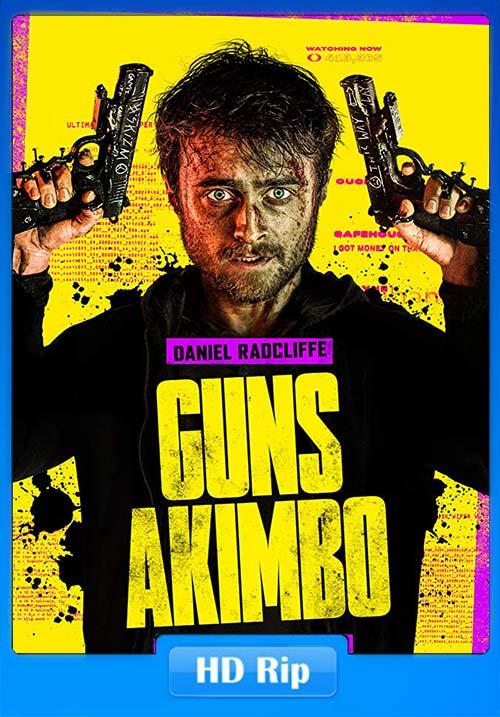 Guns Akimbo 2019 720p WEBRip x264 | 480p 300MB | 100MB HEVC Poster