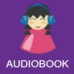 Audiobook book icon