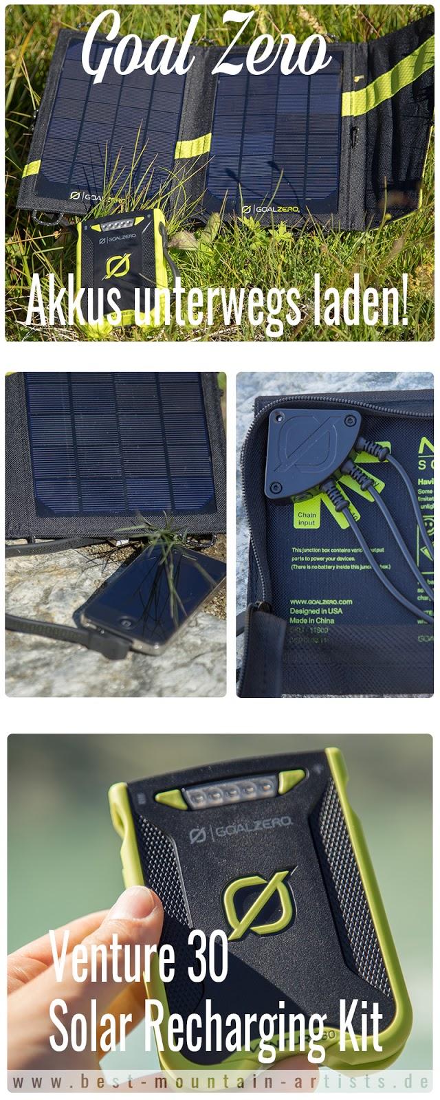Goal-Zero Solar-Ladegerät venture-30 nomad-7 solar-charging 08