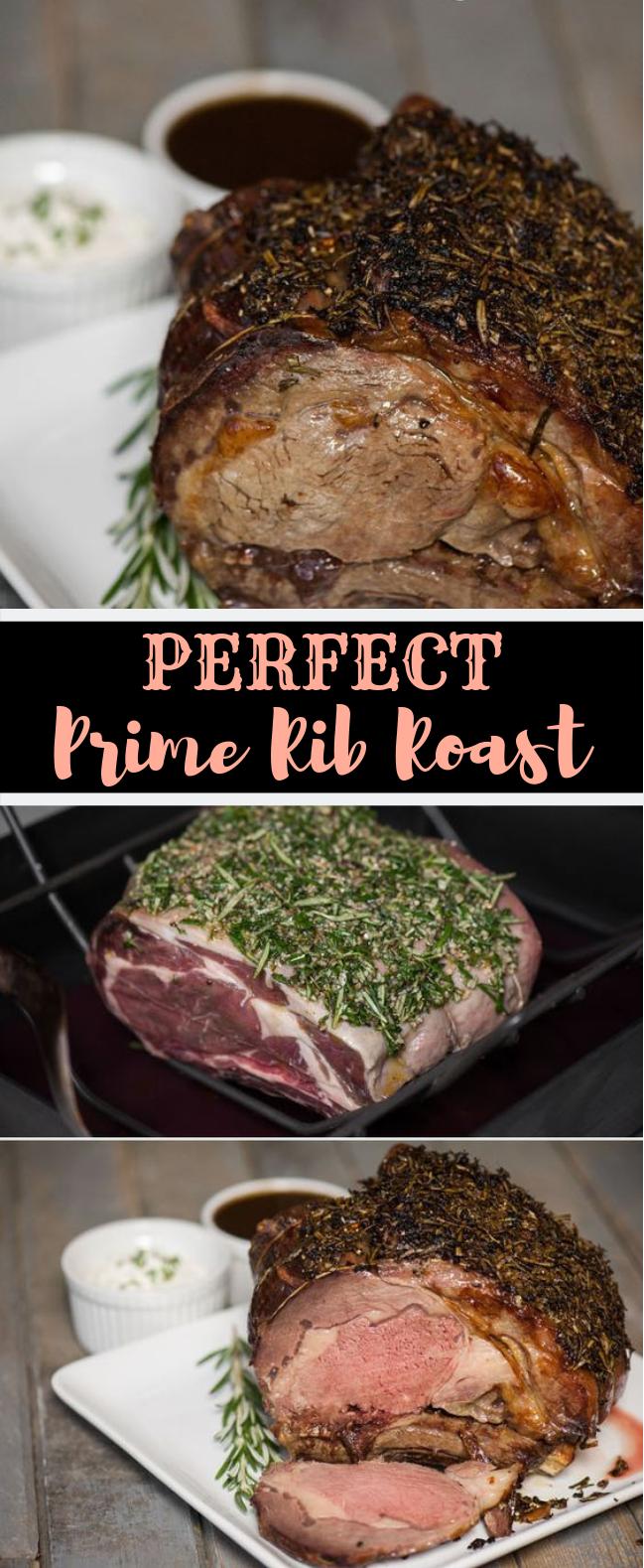 PERFECT PRIME RIB ROAST #Dinner #HolidayFood