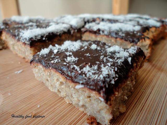 Zdrowe ciasto owsiane