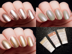 CND VINYLUX Gilded Dreams Collection via @chalkboardnails