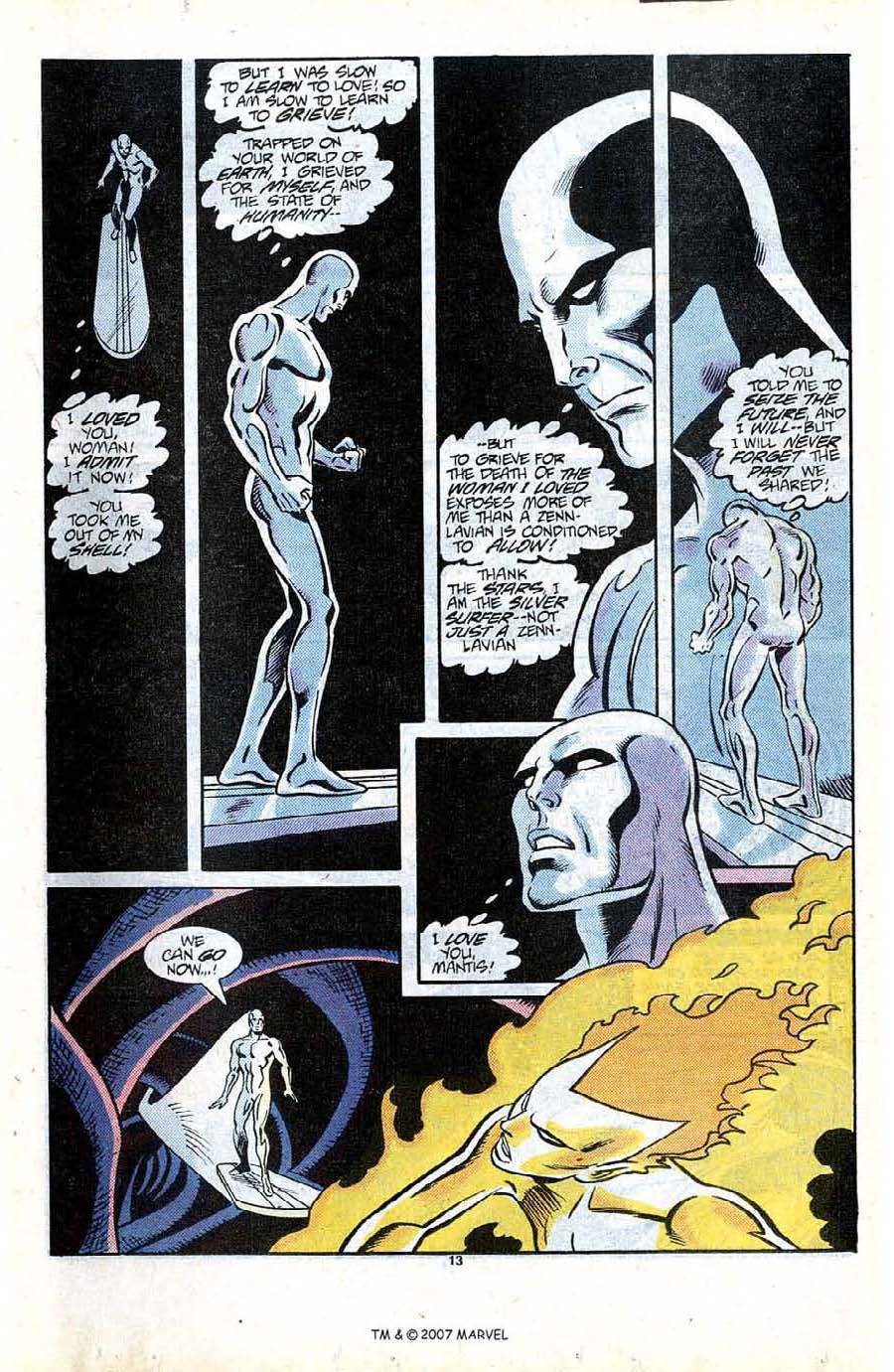 Read online Silver Surfer (1987) comic -  Issue #13 - 15