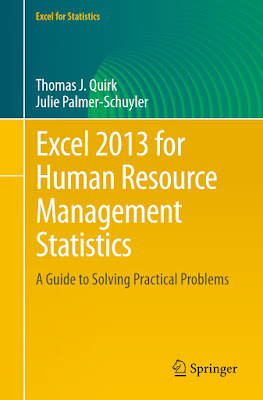 Excel 2013 for Human Resource Management Statistics: A Guide to Solving Practical Problems (Excel for Statistics) - Free Ebook Download