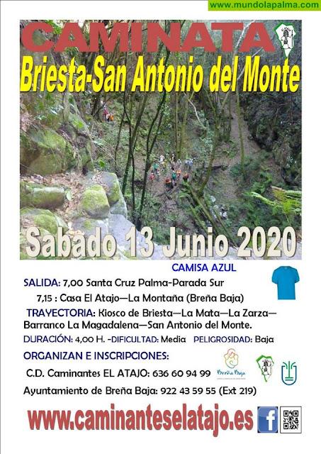 EL ATAJO: Se reactivan las Caminatas con San Antonio del Monte