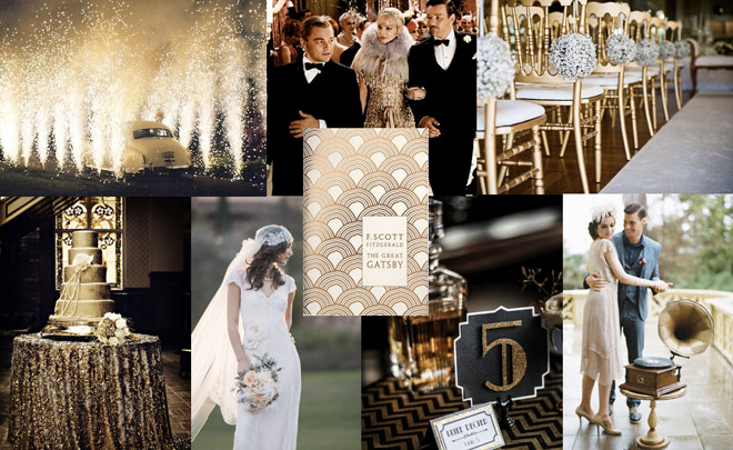 Do You Want Ideas For A Gatsby Themed Wedding