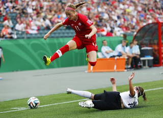 Janine Beckie, soccer, Canada, Rio Olympics