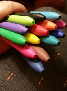 paper mate ink joy pen pack close up