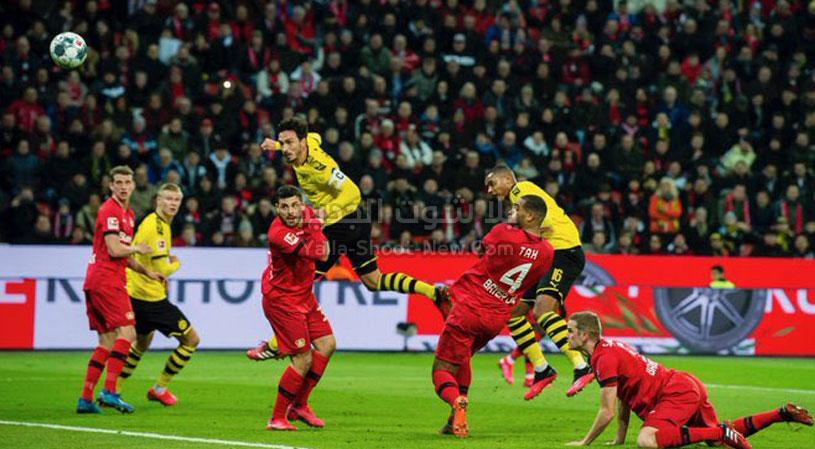 باير ليفركوزن يحقق الفوز المثير على بوروسيا دورتموند في الجولة 21 من الدوري الالماني