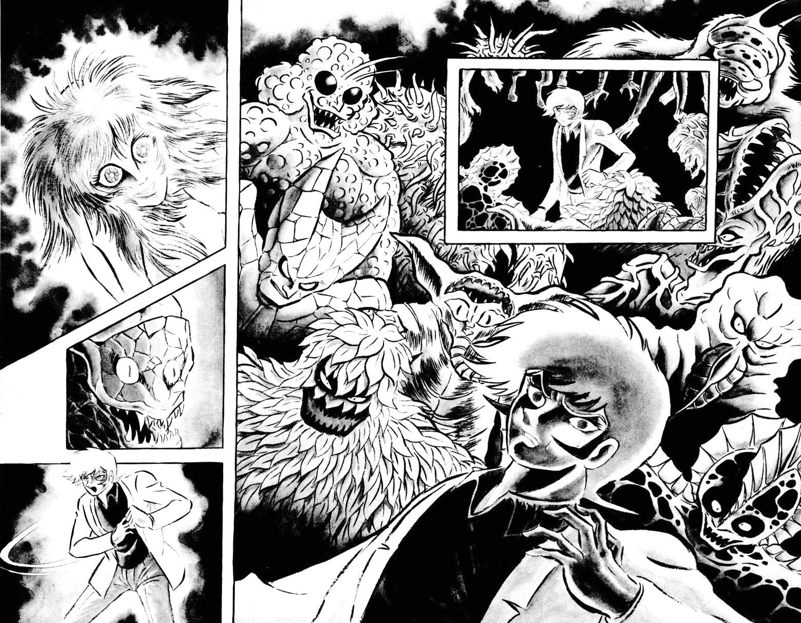 DevilMan chapter 22.1 trang 22