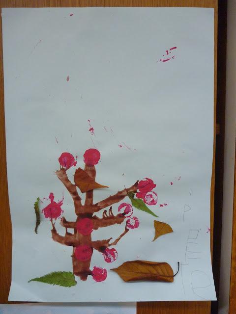 basteln Kindergarten Herbst