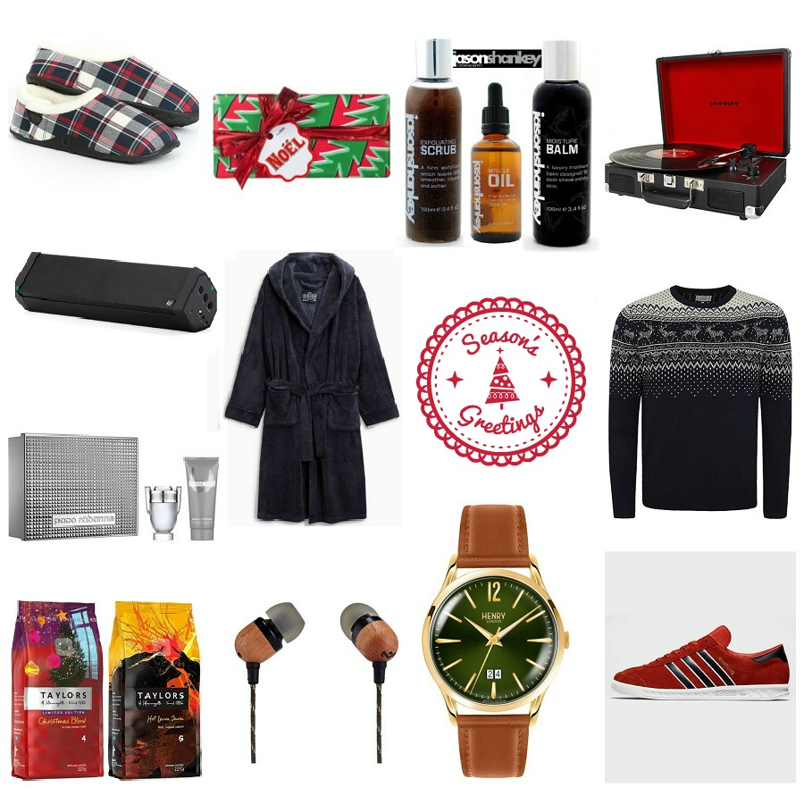 Gift Guide for Him, The Style Guide Blog, Christmas gift guide, Top presents for men, Scotts Menswear