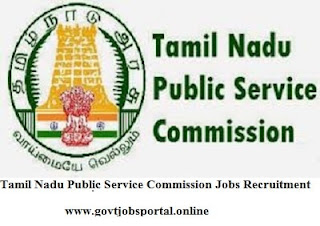 Tamilnadu Public Service Commission Jobs