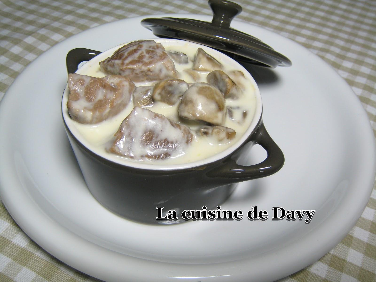 La Cuisine De Davy Blanquette De Veau A L Ancienne