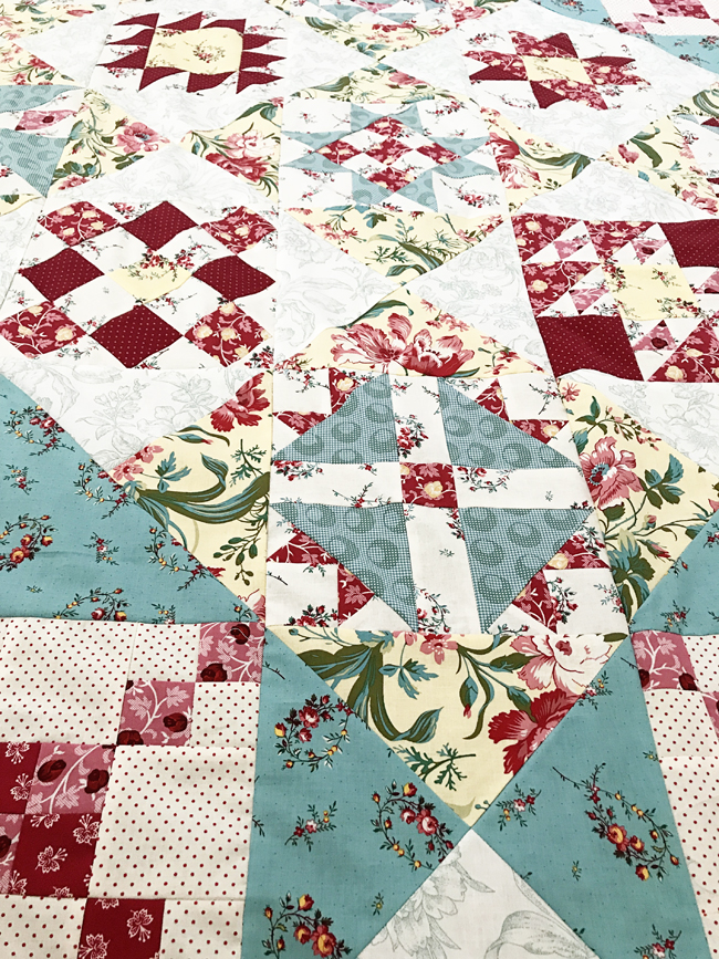 Fort Worth Fabric Studio: Raspberry and Cream BOM {Quilt Assembly} : how to put together a quilt - Adamdwight.com
