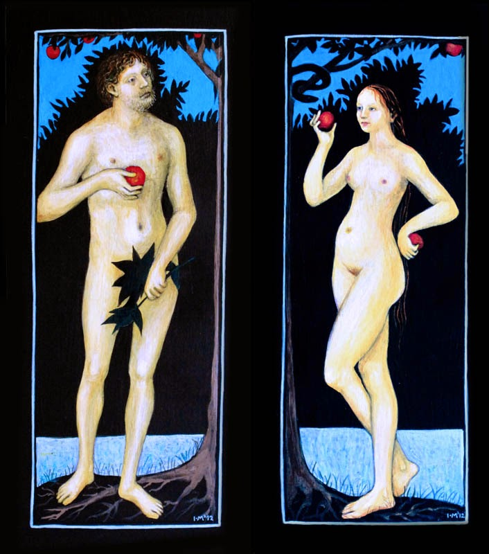 Ismini Bonatsou Adam and Eve 3