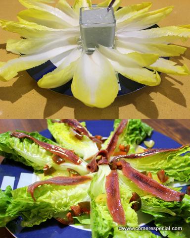 2 recetas de entrantes facilísimos: endibias y cogollos