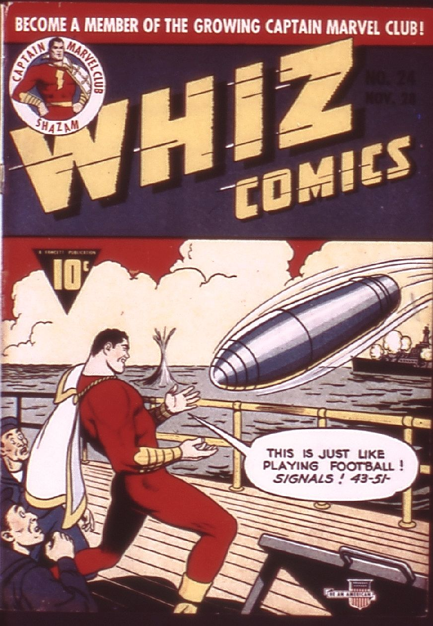 WHIZ Comics issue 24 - Page 1