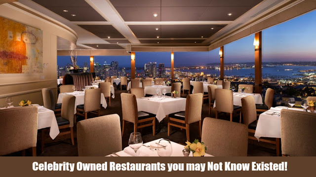 Celebrity Owned Restaurants You May Not Know Existed!