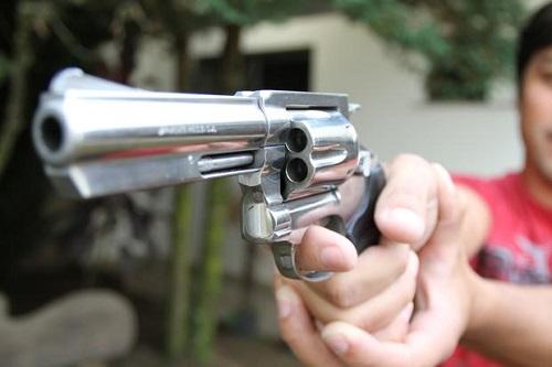 lesão a bala