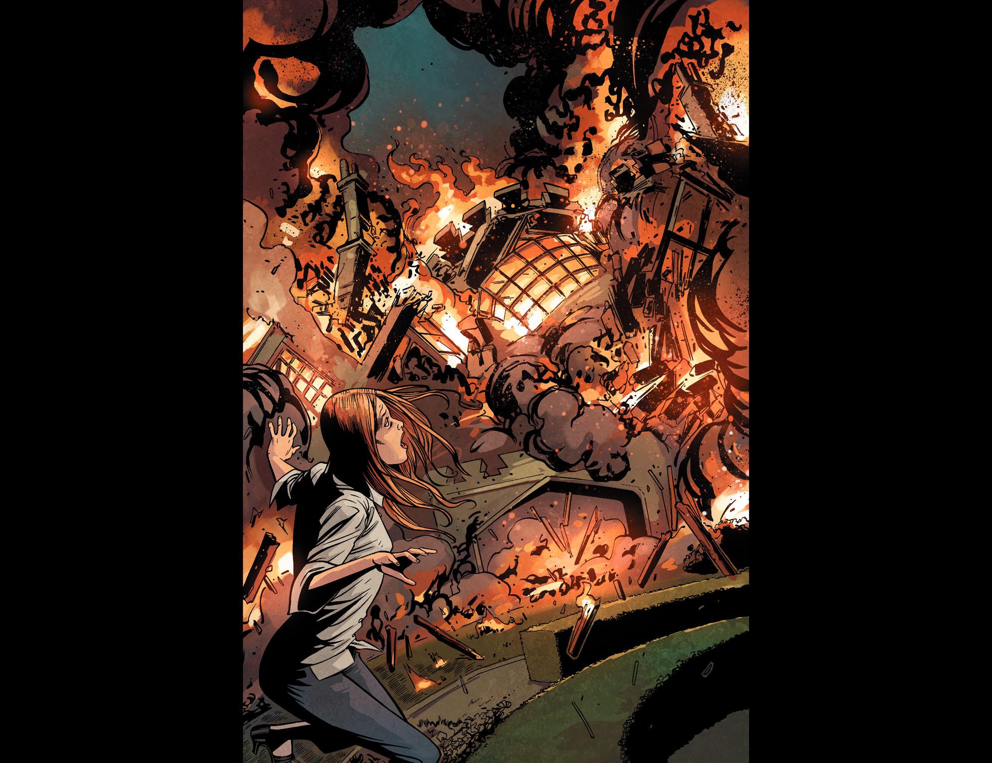 Read online Arrow: Season 2.5 [I] comic -  Issue #22 - 19
