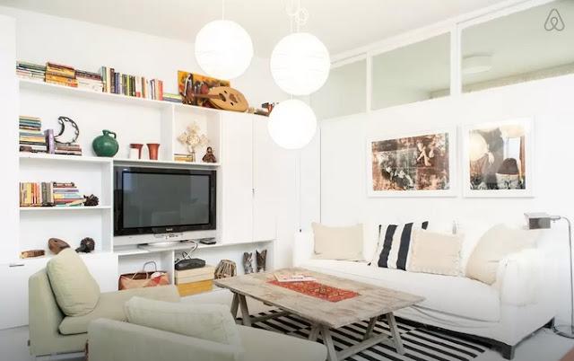 Air BnB East Village Oasis Living Room