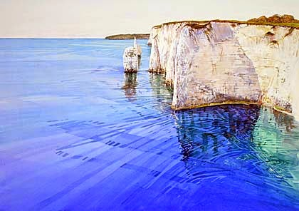 Cathy Veale local Purbeck artist seascapes from around the stunning Dorset coastline.