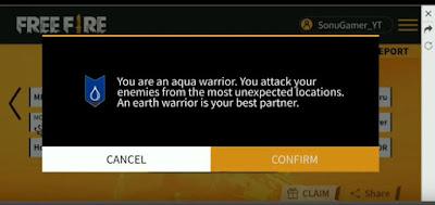 Aqua Warrior FF