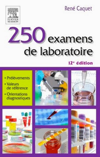 250 Examen de laboratoire - WWW.VETBOOKSTORE.COM