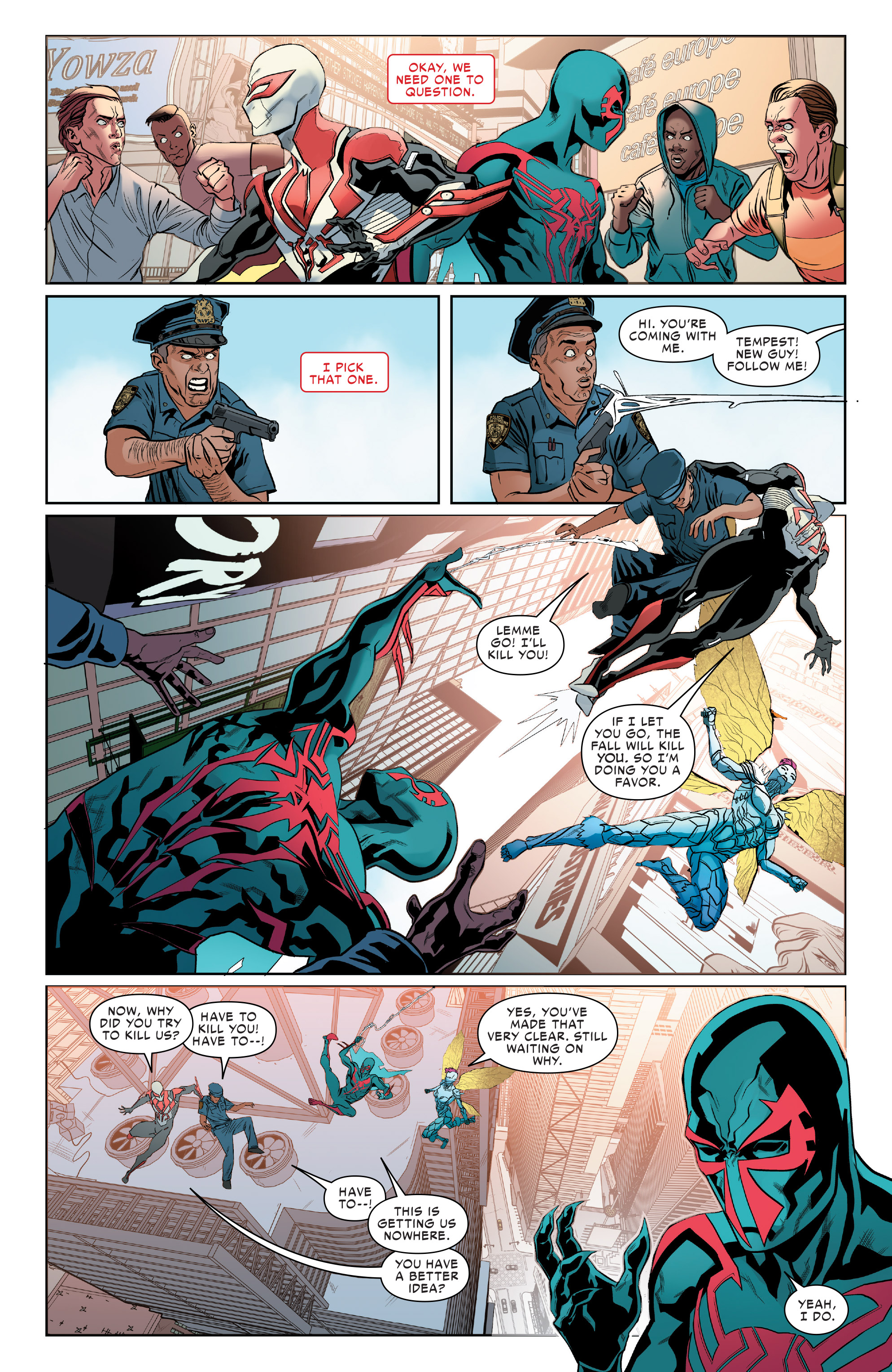 Read online Spider-Man 2099 (2015) comic -  Issue #24 - 5