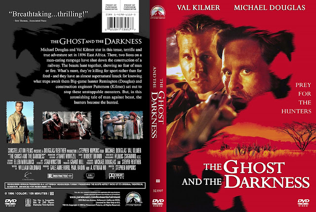 The Ghost And The Darkness DVD Cover