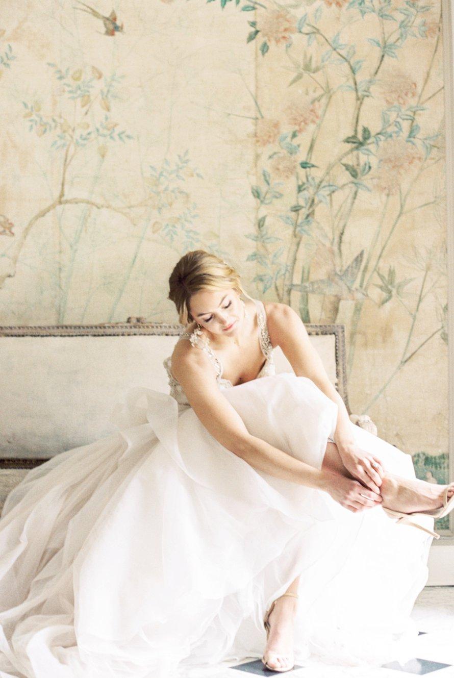 Fine Art Garden Bridal Session-Lakewold Gardens Wedding Photographer-Something Minted